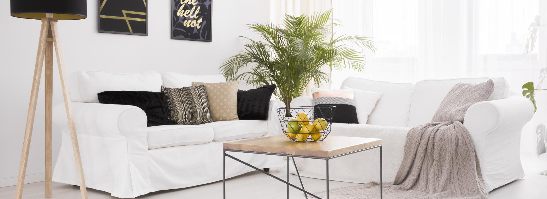 Ako si zariadiť obývačku - Hygge
